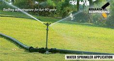 Water Sprinkler Application #pipe #watersprinkler #application