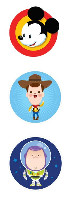 Mickey, Woody & Buzz!