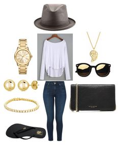 Player by americanhatmakers on Polyvore featuring J Brand, Vans, Marc Jacobs, Sonal Bhaskaran, Michael Kors and BERRICLE