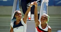 Images of Venus and Serena Williams's tennis rivalry in Grand Slam events through the years. Australian Open, Venus And Serena Williams, Sister Act, Tennis Fashion, Tennis Stars, Win Or Lose, Tennis Players, Wimbledon, Black Girl Magic