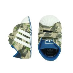 Adidas Camo Crib Shoe