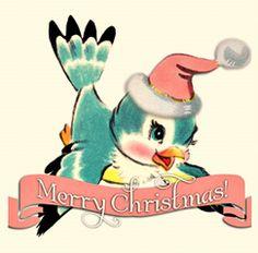Merry Christmas Bluebird