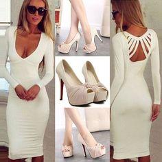 Beautiful Clothes, Beautiful Outfits, Skirt Fashion, Women's Fashion, Hat World, Sexy Backless Dress, Dress Outfits, Dress Up, Fashion Statements