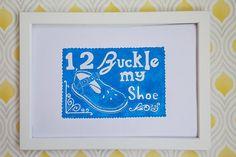 Nursery rhyme print childrens shoes lino print baby shoes Jewelry Tree, Sea Glass Jewelry, Handmade Baby, Etsy Handmade, Mommy Jewelry, Dreamland Jewelry, Blue Gift, Christian Jewelry, Toddler Gifts