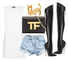 Untitled #1339 by stylebyteajaye on Polyvore featuring polyvore, fashion, style, Devious, Tom Ford and Yves Saint Laurent