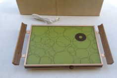 Mid Century Modern Cornwall Thermo Glass Heated Electric Serving Warming Tray  #Cornwall