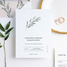 Olive You - Main #weddinginvitation