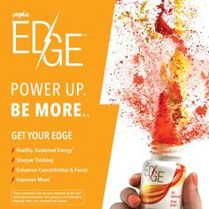 Plexus  A better life is now within reach! Plexus EDGE™ is here! EDGE offers sustained energy along with increased focus and concentration