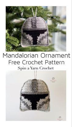 Crochet Christmas Decorations, Crochet Ornaments, Christmas Crochet Patterns, Holiday Crochet, Crochet Gifts, Star Wars Crochet, Crochet Stars, Kawaii Crochet, Cute Crochet