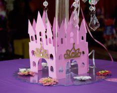 Centro de mesa castillo por Fancymycupcake en Etsy
