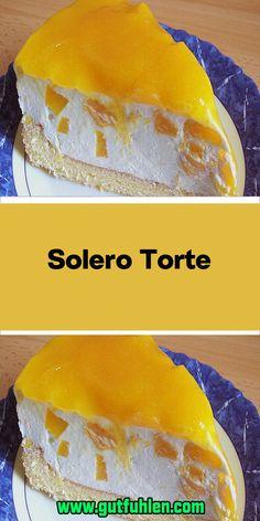 Solero Torte Ingredients 2 egg (s) 75 g icing sugar 75 g cornstarch pck. Tin / peach (s) 2 pck. Whipped cream à 200 … Mini Desserts, Dessert Recipes For Kids, Quick Easy Desserts, Easy Donut Recipe, Donut Recipes, Easy Cake Recipes, Homemade Donuts, Homemade Desserts, Peanut Butter Dessert Recipes
