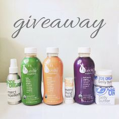 Please follow @zoeorganics and @bundleorganics they have some goodies in store for your inside and outside health beauty and get a chance to win these goodies.