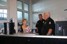 Talking with Deputies by Johnson County Sheriff, via Flickr