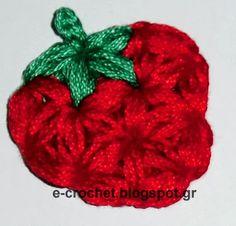 e-crochet: Strawberry Jam - Μαρμελάδα Φράουλα