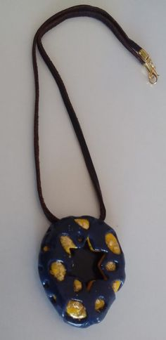 "with pendant ""estrella azul"" # Schmuckanh … - Diy Necklace Deko Diy Necklace, Washer Necklace, Jewelry Shop, Jewelry Necklaces, E Coupons, Pendants, Handmade, Beauty, Online Marketing"