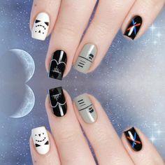 Star Wars : Les plus beaux nail arts #starwars #manucure #vernis