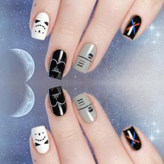 Star Wars : Les plus beaux nail arts #starwars #manucure #vernis #nailart #monvanityideal