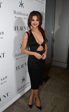 Selena Gomez - Flaunt Magazine November Issue Party With Selena Gomez At Hakkasan Beverly Hills