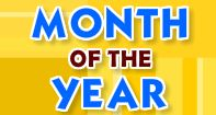 Months of the Year is an interactive kindergarten math game. In this game kids learn the names and order of the 12 months of the year and also practice using them.