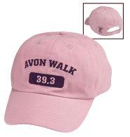 Avon Walk Pink Baseball Cap (Fundraiser)  www.youravon.com/plohmann-rawlins