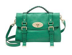Mulberry Alexa Soft Buffalo Bag Green 7539   All Mulberry Bag Sale