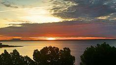 Beautiful sunrise in Mallorca