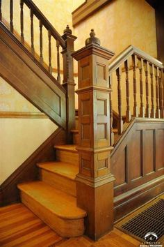 c. 1894 Queen Anne staircase