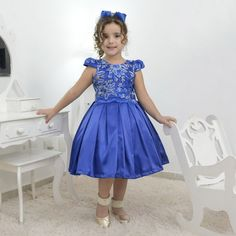 Vestido de Dama de Honra Batizado 2019 Importado de 4 a 8 anos.