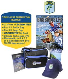 FREE Bassmaster Hat, Tackle Bag, Book, DVD and Magazine Subscription on http://hunt4freebies.com