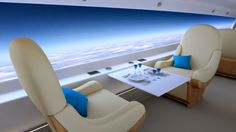 S-512 Supersonic Jet Ditches Windows for Massive Live-Streaming Screens. Photo: Spike Aerospace