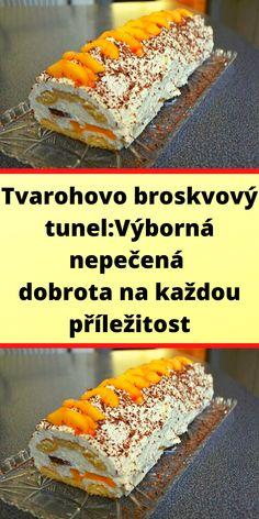Czech Recipes, Ethnic Recipes, Tiramisu, Sandwiches, Good Food, Sweets, Bread, Baking, Cake