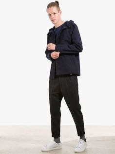 Jacket by Libertine Libertine Longsleeve by Norse Projects Pants by ATF Clothing
