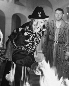 Jules Berry as the devil in French film Les Visiteurs du Soir (1942)