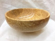 Spalted Soft Maple Bowl