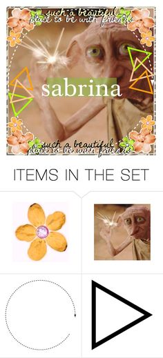 """""""{❀} sabrina's prize icon"""" by coffee-icons ❤ liked on Polyvore featuring art, icon, dobby and cheyscoffeeicons"""