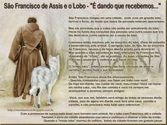 Mural Animal: São Francisco de Assis e o Lobo