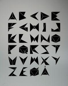 Typo: Origami Type
