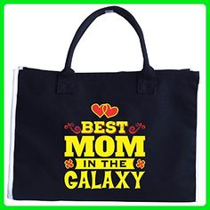 Best Mom In The Galaxy An Awesome Gift - Tote Bag - Top handle bags (*Amazon Partner-Link)