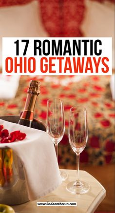 Read about 17 romantic getaways in Ohio that couples will love| Romantic Ohio| Romantic weekend getaways in Ohio #ohio #romantic #usa #travel