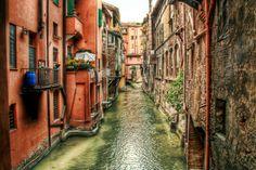 The window, one of the seven secrets, Bologna