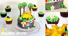 Dragonvale cake....