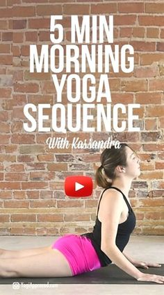 yoga yoga routine 5 Minute Morning Yoga Flow for Morning Yoga Flow, Morning Yoga Sequences, Morning Yoga Routine, Morning Meditation, Daily Yoga Routine, Yoga Meditation, Yoga Beginners, Yoga Fitness, Fitness Workouts
