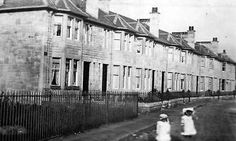 Old photograph of Giffnock, Renfrewshire, Scotland Scottish People, Old Photographs, Old Pictures, Glasgow, Outlander, Norway, Scotland, Ireland, Nostalgia