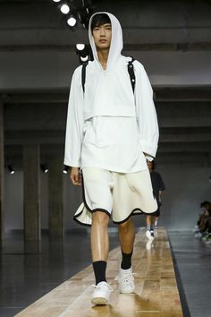 Y-3 Menswear Collection Spring Summer Fashion Show in Paris