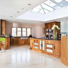 Rich walnut units | Kitchens | Decorating ideas | Image