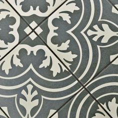 Merola Tile Twenties Classic 7-3/4 in. x 7-3/4 in. Ceramic Floor and Wall Tile-FRC8TWCL - The Home Depot