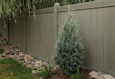 Vinyl/composite fencing.