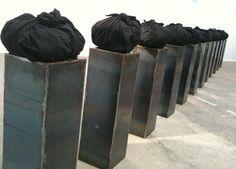 Jannis Kounellis #sculpture #artwork