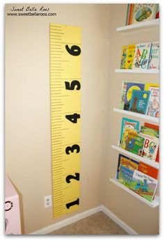 DIY Pottery Barm knock off growth chart