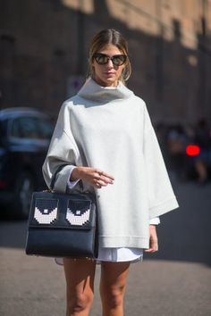 93 fall outfit ideas to take from the street style outside Milan Fashion Week:
